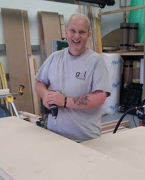 carpenter Jon Gillmore, gosport