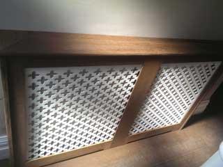 bespoke wooden radiator covers