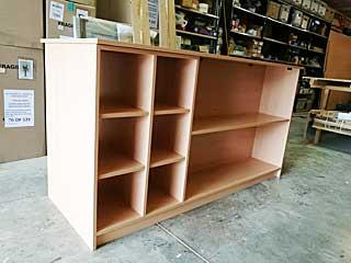 Wooden storage units by carpenter jon gillmore